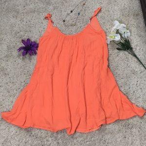 Roxy Orange Dress Size M